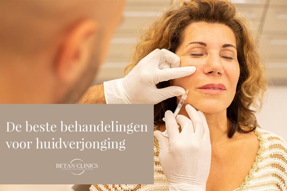 De beste behandelingen voor huidverjonging