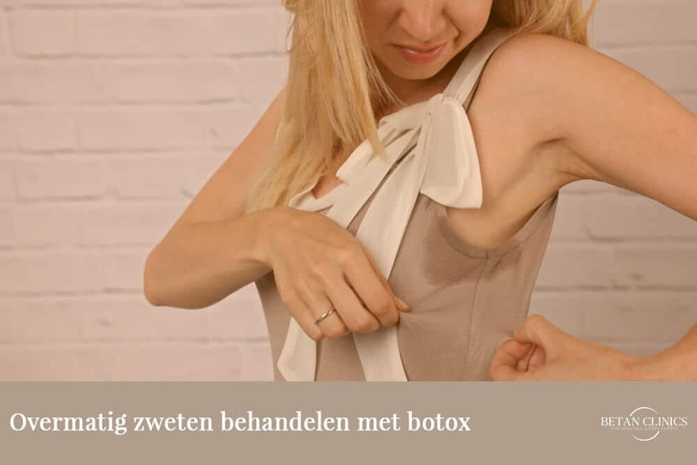 botox tegen zweten